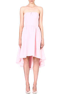 TED BAKER Pink crepe dress