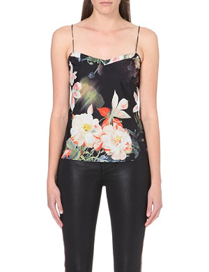 TED BAKER Cynaria printed camisole