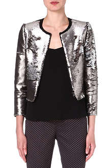 TED BAKER Blubele sequinned jacket