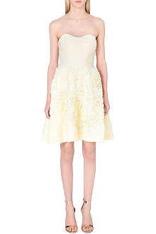 TED BAKER Strapless ruffle dress