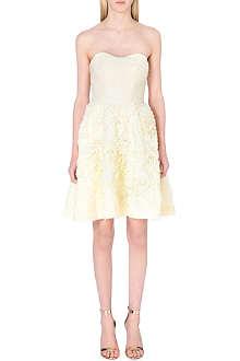 TED BAKER Strapless ruffle dress