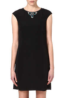 TED BAKER Kimmiye embellished tunic dress