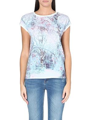 TED BAKER Snow blossom t-shirt