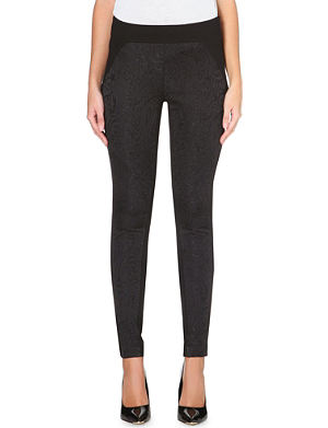 TED BAKER Jacquard panel leggings