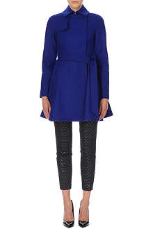 TED BAKER Wool fit-and-flare coat