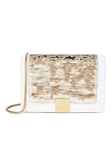 TED BAKER Sequin detail clutch bag