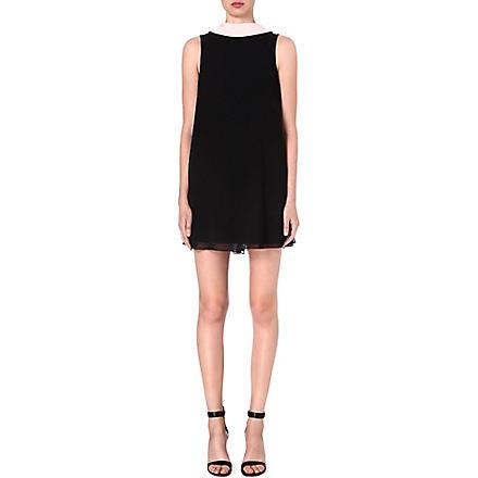 TED BAKER Collar-detail reversible tunic dress (Black