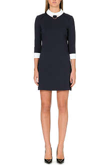 TED BAKER Contrast collar dress