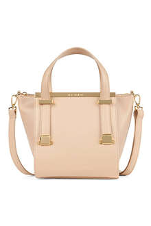 TED BAKER Barbies leather shopper bag
