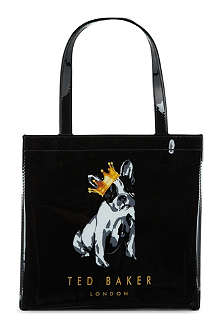 TED BAKER Small printed shopper bag