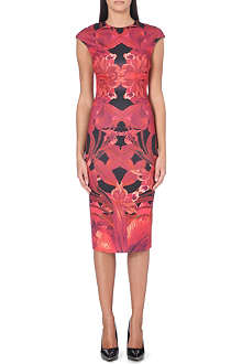 TED BAKER Jungle orchid print dress