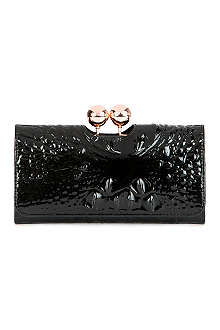 TED BAKER Elmira textured-leather purse