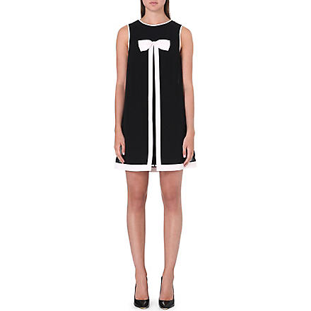 TED BAKER Josa bow detail dress (Black