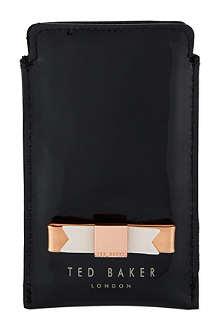TED BAKER Minicio bow iPhone sleeve