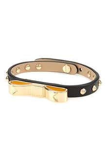 TED BAKER Bowena studded bow bracelet