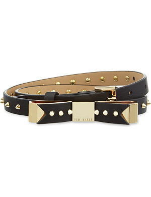 TED BAKER Studded bow belt