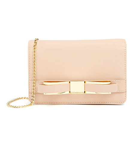 TED BAKER Bow clutch bag (Taupe