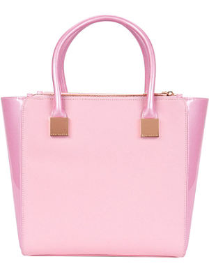 TED BAKER Crosshatch shopper