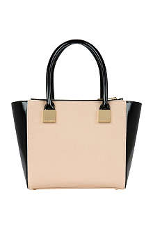 TED BAKER Avah crosshatch mini tote bag