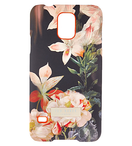 TED BAKER Opulent bloom Samsung Galaxy case (Black