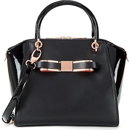 TED BAKER Bandook leather tote bag (Black