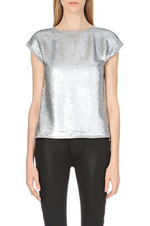 TED BAKER Seqeen sequined top