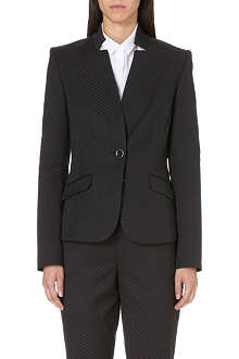 TED BAKER Diamond jacquard jacket