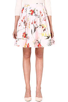 TED BAKER Lotussi botanical bloom full skirt