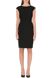 TED BAKER Jineen contrast textured panels dress