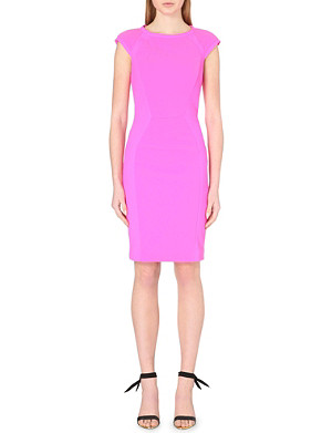 TED BAKER Jineen contrast-panelled dress
