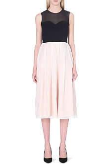 TED BAKER Jahari bodice ballerina dress