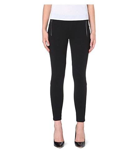 TED BAKER Neoprene leggings (Black