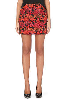 TED BAKER Crinnan jacquard mini skirt