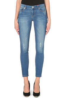 TED BAKER Frossia skinny abrasion jeans