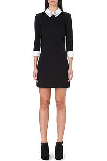 TED BAKER Embellished collar dress
