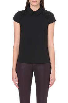 TED BAKER Osster embellished top