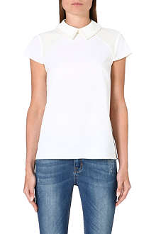 TED BAKER Pearl embellished top