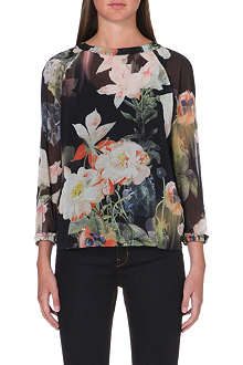 TED BAKER Opulent bloom top