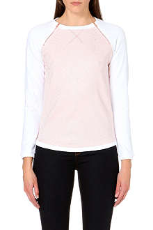 TED BAKER Aalison embossed front jumper