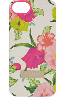 TED BAKER Flowers at high tea iPhone case