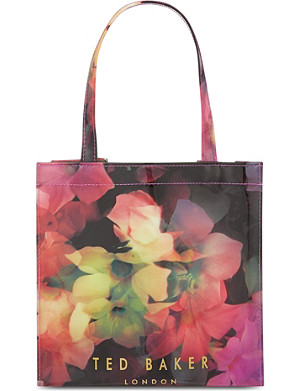 TED BAKER Cascading floral shopper and umbrella