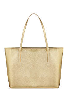 TED BAKER Isbell crosshatch shopping tote
