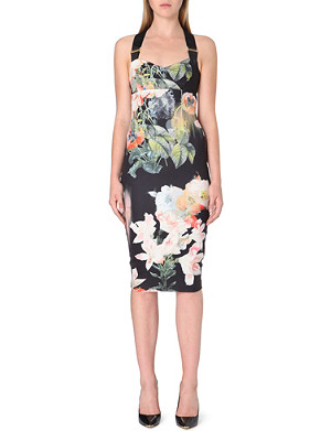 TED BAKER Opulent Bloom floral print dress