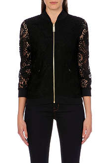 TED BAKER Zairah lace bomber jacket