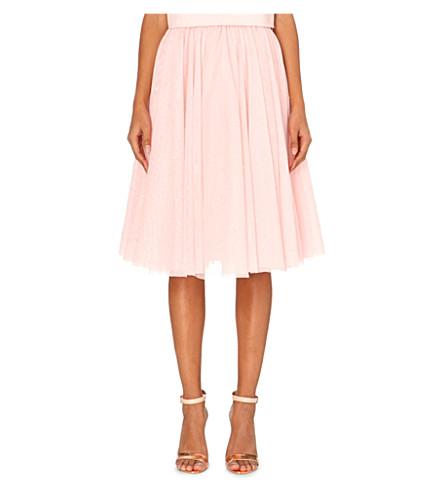TED BAKER Odella embellished tutu skirt (Pale pink