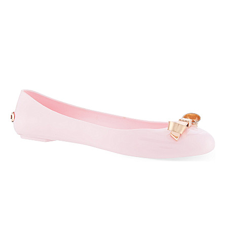 TED BAKER Jelly pumps (Light pink