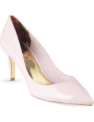 TED BAKER Mid heel pointed court shoe