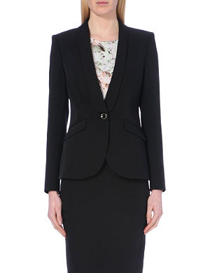 TED BAKER Crepe suit jacket