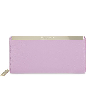 TED BAKER Florany leather bar matinee purse