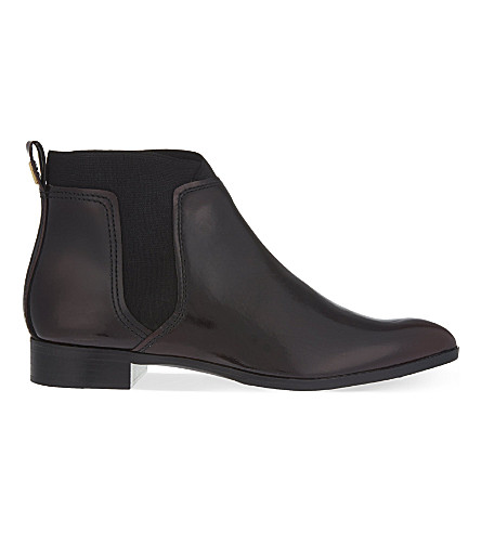 TED BAKER Maki ankle boots (Dark red